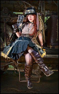 Steampunk Girl by Allen Freeman