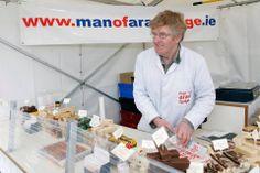 Yummy fudge Man of Aran Fudge stall. Photo by John Walsh