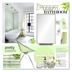 """""""fresh"""" by drn57 ❤ liked on Polyvore featuring interior, interiors, interior design, home, home decor, interior decorating, Illume, Renwil, Kartell and Croscill"""