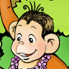 Monkey and Crocodile - Animal fable with a moral on the iPad and iPhone