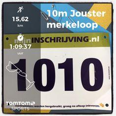 35e Joustermerkeloop in Joure. 16,1 km (10 mijl) in 1:09:37.