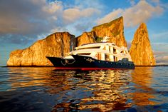 This is one of Blue Parallel's favorite cruises in the Galapagos Islands: the Ocean Spray. Contact us for more details!