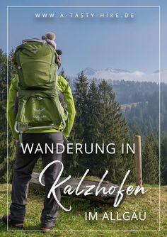 Allgäu Wandern: Tolle Wanderung zur Kalzhofener Höhe bei Oberstaufen im Allgäu. Diese Tour eignet sich hervorragend für Genusswanderer und Wanderanfänger. Sie bietet eine tolle Aussicht auf die umliegenden Gebirgszüge der Alpen! #Wandern #Wanderung #Allgäu #Oberstaufen