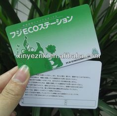 13.56MHZ Ultraligh RFID Smart Card with double side printing