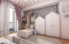 Baby Bedroom, Baby Boy Rooms, Little Girl Rooms, Baby Room Decor, Girls Bedroom, Kids Bedroom Designs, Baby Room Design, Interiores Design, Design Interior