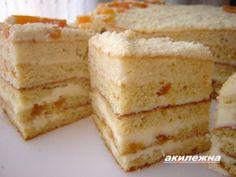 Кулинарные рецепты от Лики: Пирожное «Ароматная курага»