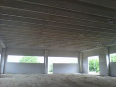From inside! Home is taking shape...