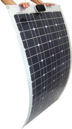 120W Flexible Solar Panel #SolarEnergy #CleanGreenEnergy
