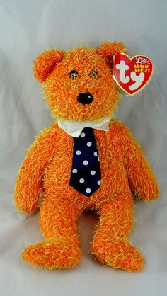 Ty Beanie Baby PAPPA Father Day Bear 9
