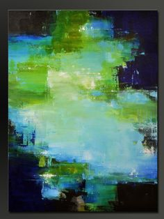 Inception 30 x 40 Abstract Acrylic Painting door CharlensAbstracts