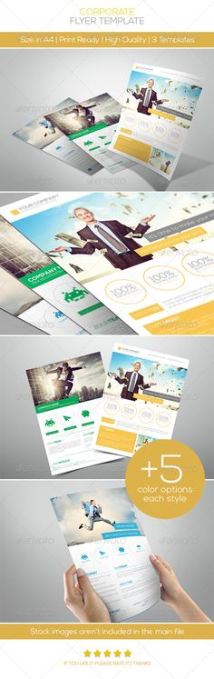 Premium Corporate Flyers Vol.2 — Photoshop PSD #advertisement #simple • Available here → https://graphicriver.net/item/premium-corporate-flyers-vol2/5002494?ref=pxcr