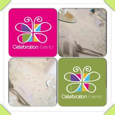 Scatter crystals - colour co-ordinated to bring a touch of colour to your table