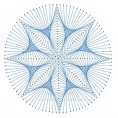 string art pattern