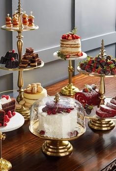 Serve delectable treats in style with our exquisitely detailed Amelie Tiered Servers. Each clear glass serving tier features a stainless-steel border with a mat Tiered Server, Party Platters, Decoration Table, Food Presentation, High Tea, Dessert Table, Afternoon Tea, Tea Time, Table Settings