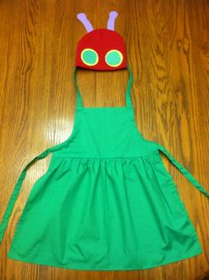 """{Number 7} """"The Very Hungry Caterpillar"""" Costume. This would be pretty easy to make!! #WorldEricCarle #HungryCaterpillar"""