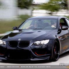 BMW M3 Darth Maul edition