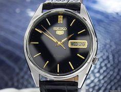 Seiko 5 aanbod: 486 € Seiko 5 Ref 7009-3060 Rare Day Date Mens Vintage Automatic..., Staal; Automatisch; Staat 1 (zeer goed); Jaar 1970-1979; Locatie: Ver. Staten, CA, LOS ANGELES