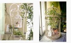 #клетки #декор #птички #цветы #цветочнаякомпозиция