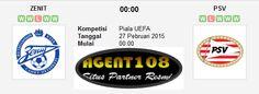 Prediksi Zenit Petersburg vs PSV Eindhoven 27 Februari 2015 Liga Eropa
