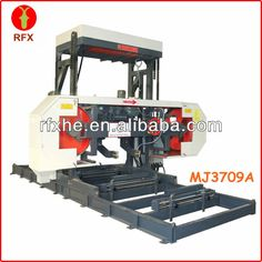 "Mj3709a 35"" Horizontal Mobile Sawmill - Buy Mobile Sawmill,horizontal Bandsaw…"