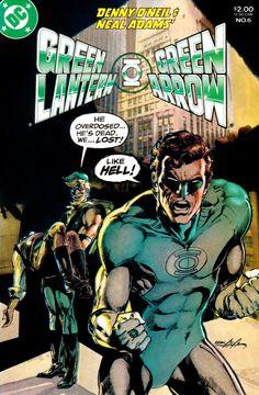 Green Lantern/Green Arrow Vol. 1 #6 (1983) - Neal Adams