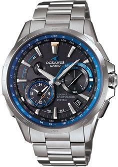 Amazon.co.jp: [カシオ]CASIO 腕時計 OCEANUS GPSハイブリッド電波ソーラー OCW-G1000-1AJF メンズ: 腕時計通販