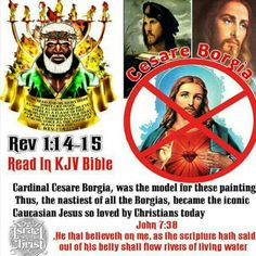 Christ is a so-called Black Man! Abraham And Sarah, Revelation 1, Babylon The Great, Black Jesus, 12 Tribes Of Israel, Tribe Of Judah, The Borgias, Black History Facts, Bible Truth