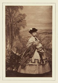 Princess Louise, 1861 [in Portraits of Royal Children Vol.5 1860-1861]   Royal Collection Trust