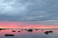Template:Potd/2015-10 - Wikimedia Commons Dusk at Hauaneeme bay in Lahemaa National Park.