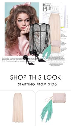 """""""Every thing fine here"""" by junglequeen84 ❤ liked on Polyvore featuring Needle & Thread, Givenchy and The Volon"""