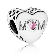 Pandora Charm Herz 925er Silber Mom 791881PCZ https://www.thejewellershop.com/ #bestmom #mom #charm #heart #mutter #pandora #silber #schmuck #jewelry #herz #muttertag