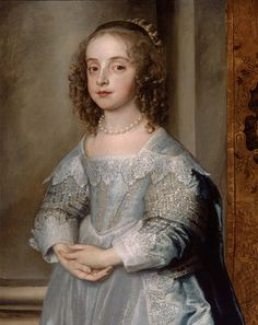 Anthony van Dyck (Flemish, 1599–1641) Princess Mary, Daughter of Charles I (detail) about 1637