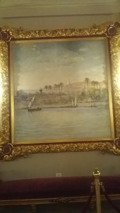 painting - mohamed ali palace Egypt
