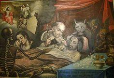 La Mala Muerte - atribuido al taller de los hermanos Cabrera en Quito