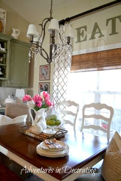 Adventures in Decorating: Its a Spring Thing (I Think)!