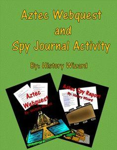 This is a bundle of two following lesson plans on the Aztecs.Aztec WebquestAztec…