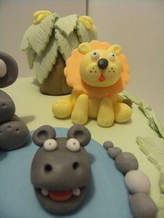 Jungle cake Jungle Cake, Bear Cakes, Desserts, Tailgate Desserts, Deserts, Postres, Dessert, Plated Desserts