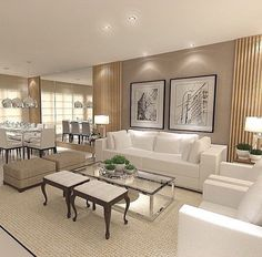 Living room design guide - A fantastic interior decorating tip is utilizing the wasted space to use. This adds interest on the room more eye-catching and attractive. Big Living Rooms, Living Room Sets, Home Living Room, Living Room Designs, Living Room Decor, Living Spaces, Sofa Design, Living Room Remodel, Home Decor