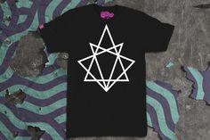Black 8Point RGZ Tag T-Shirt   VANDALrgz   Online Store  Merchandise  #VANDALrgz #bikepolo #lifestyle #streetwear #8point