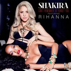 Shakira feat. Rihanna - Can't Remember to Forget You (Official Video & Lyrics) http://www.danielangello.com/2014/01/shakira-feat-rihanna-cant-remember-to-forget-you-official-video-lyrics.html