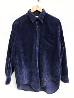 """Paul Smith Paul Smith Velvet Button Down Shirts Made In Japan Armpit 23.5""""x32.5"""" Size m - Shirts (Button Ups) for Sale - Grailed"""