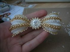 tutorial-butterfly bracelet-мк от мастера Mikki Ferrugiaro от 2011