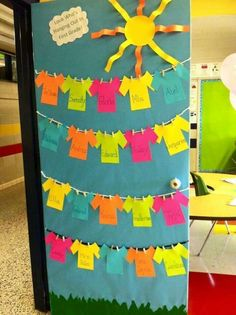 Classroom themes for high school classroom decorations for high school doors decoration high school classroom decorating . Door Displays, Classroom Displays, Classroom Themes, High School Classroom, Preschool Classroom, Preschool Activities, Preschool Art, Summer Door Decorations, School Decorations