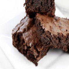 Espresso Brownies, Chocolate Brownies, Dark Chocolate Chips, Decadent Chocolate, Memorial Day Foods, Super Rapido, Dessert Recipes, Desserts, Postres