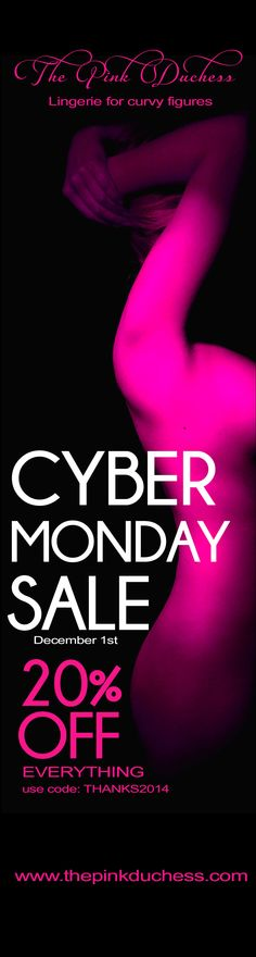 CYBER MONDAY SALE at The Pink Duchess
