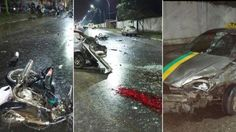 Brutal triple choque dejó dos muertos, incluyendo a un conductor de 13 años: También perdió la vida una joven de 24 años.