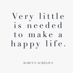 I've been thinking a lot about happiness lately. How we should embrace the good things in our life, and eliminate negativity. How easily everything can change - and what you have inside and around you is what really matters. At the end of the day, my happ