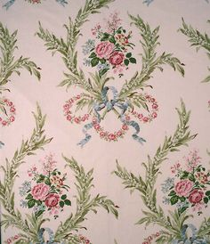 Jean Monro supply printed fabrics, hand block fabrics, wallpapers and Ramm Son & Crocker Fabrics. Victorian Wallpaper, Damask Wallpaper, New Wallpaper, Fabric Patterns, Flower Patterns, Vintage Fabrics, Fabric Decor, Floral Embroidery, Quartos