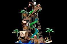 LEGO IDEAS - - The Pirate Bay Pirate Lego, Cool Lego, Awesome Lego, Lego Ship, Treasure Maps, Water Slides, Some Fun, Legos, Pirates