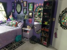 "jaynejezebelle: ""My new room and my rapidly growing collections of things! """